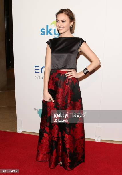 Ella Wahlestedt attends the 5th Annual Thirst Gala hosted by Jennifer Garner in partnership with Skyo and Relativity's Earth To Echo on June 24 2014...