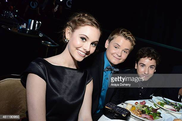 Ella Wahlestedt Reese Hartwig and Teo Halm attend the 5th Annual Thirst Gala hosted by Jennifer Garner in partnership with Skyo and Relativity's...