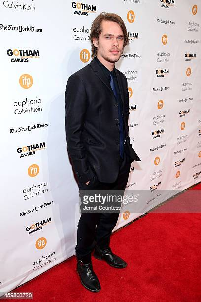 Ellar Coltrane attends IFP's 24th Gotham Independent Film Awards at Cipriani Wall Street on December 1 2014 in New York City