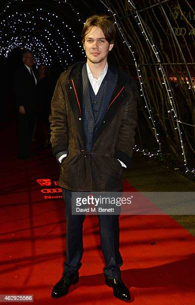 Ellar Coltrane attends the EE British Academy Awards nominees party at Kensington Palace on February 7 2015 in London England
