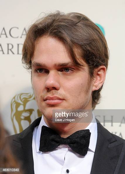 Ellar Coltrane poses in the winners room at the EE British