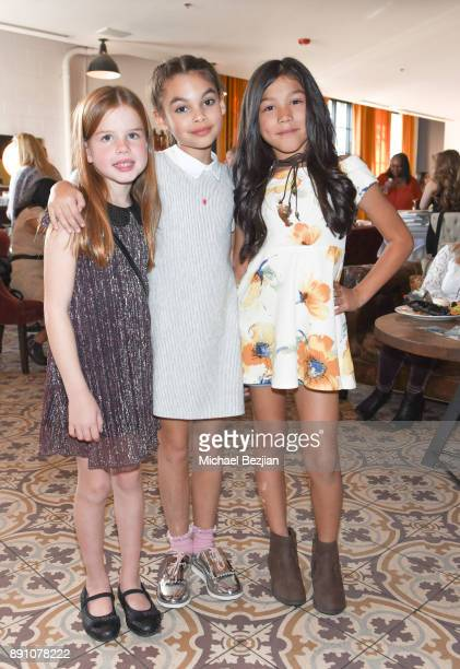 Ellarose Kaylor Ariana Greenblat and Txunamy attend Girl Guild Debuts with a Strong Mission and Support of Young Influencers at Palihouse West...