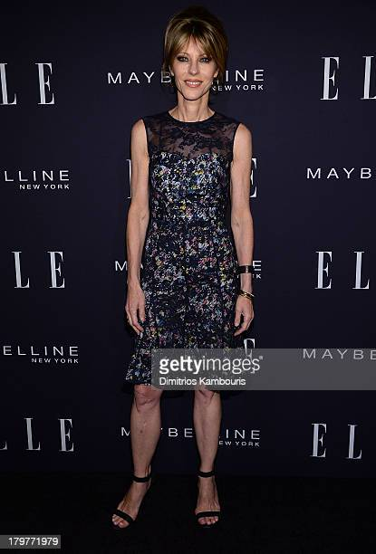 Elle Editor in Chief Robbie Myers backstage at the Elle Fashion Next presented by Maybelline at David H Koch Theater at Lincoln Center on September 6...