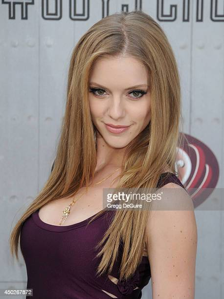 Elle Evans arrives at Spike TV's 'Guys Choice' Awards at Sony Studios on June 7 2014 in Los Angeles California