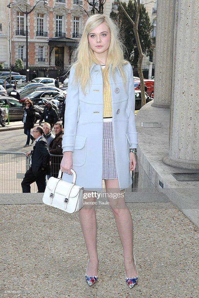 8132dbe9b853 Celebrity Sighting At Paris Fashion Week - March 5 - Womenswear Fall Winter  2014-