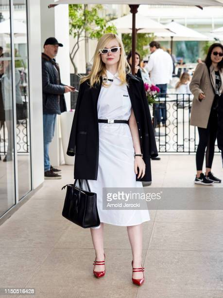 Elle Fanning at Martinez hotel during the 72nd annual Cannes Film Festival on May 20 2019 in Cannes France