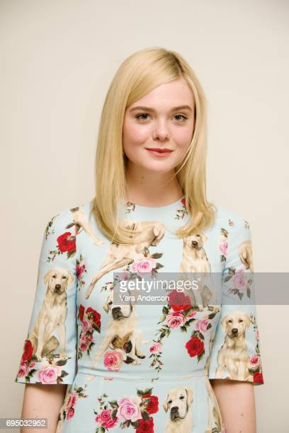Elle Fanning at 'The Beguiled' Press Conference at the Four Seasons Hotel on June 11 2017 in Beverly Hills California