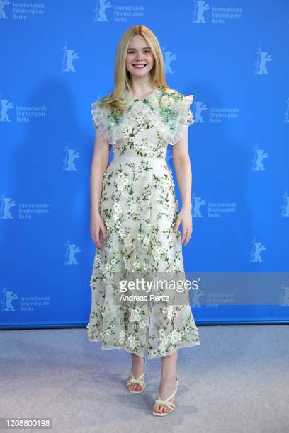 """Elle Fanning at the """"The Roads Not Taken"""" photo call during the 70th Berlinale International Film Festival Berlin at Grand Hyatt Hotel on February..."""