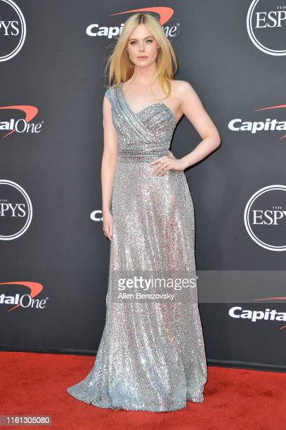 Elle Fanning attends the 2019 ESPY Awards at Microsoft Theater on July 10, 2019 in Los Angeles, California.