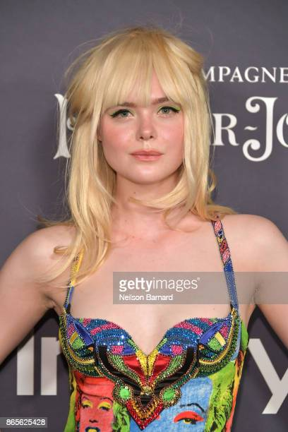 Elle Fanning attends the 3rd Annual InStyle Awards at The Getty Center on October 23 2017 in Los Angeles California