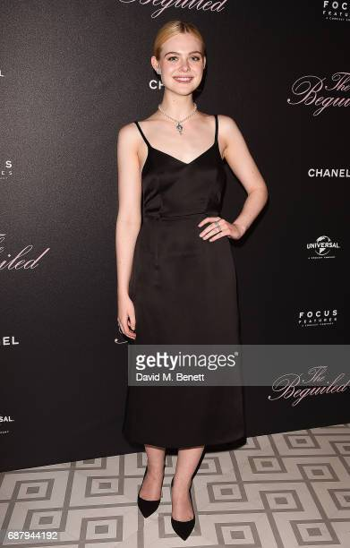 Elle Fanning attends The Beguiled private party hosted by Focus Features and Universal Pictures International in collaboration with Chanel at La...
