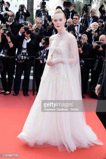 Elle Fanning attends the Closing Ceremony Red Carpet during the 72nd annual Cannes Film Festival on May 25 2019 in Cannes France
