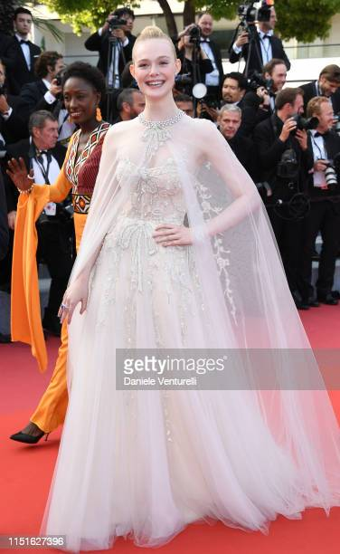 Elle Fanning attends the closing ceremony screening of The Specials during the 72nd annual Cannes Film Festival on May 25 2019 in Cannes France