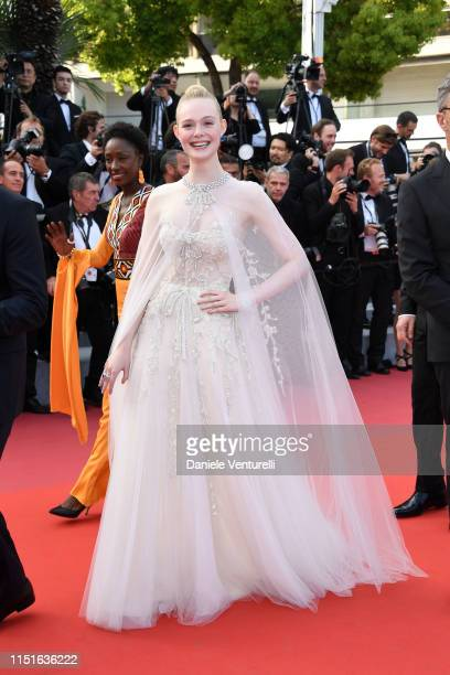 """Elle Fanning attends the closing ceremony screening of """"The Specials"""" during the 72nd annual Cannes Film Festival on May 25, 2019 in Cannes, France."""