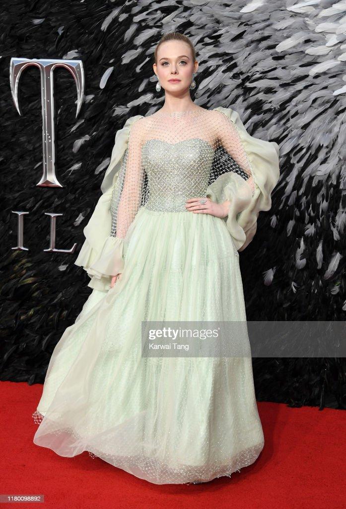 """Maleficent: Mistress Of Evil"" European Premiere - Red Carpet Arrivals : News Photo"