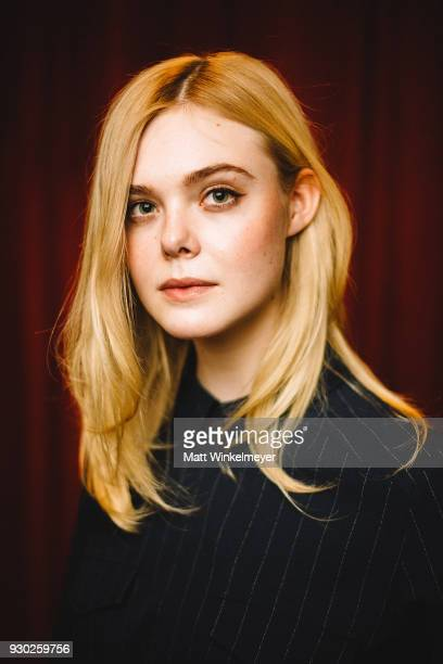 Elle Fanning attends the 'Galveston' Premiere 2018 SXSW Conference and Festivals at Paramount Theatre on March 10 2018 in Austin Texas