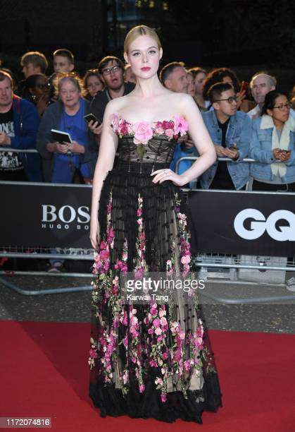 Elle Fanning attends the GQ Men Of The Year Awards 2019 at Tate Modern on September 03 2019 in London England