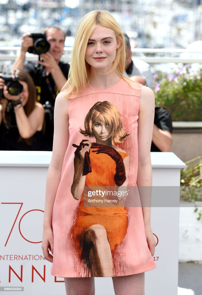"""How To Talk To Girls At Parties"" Photocall - The 70th Annual Cannes Film Festival : Nachrichtenfoto"