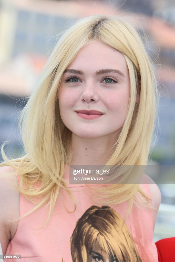 Elle Fanning attends the 'How To Talk To Girls At Parties' Photocall during the 70th annual Cannes Film Festival at Palais des Festivals on May 21, 2017 in Cannes, France.