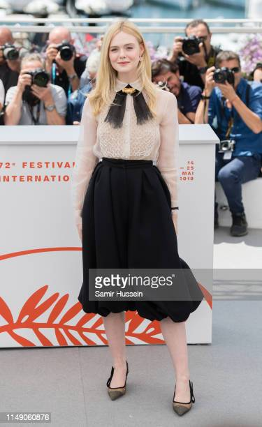 Elle Fanning attends the Jury photocall during the 72nd annual Cannes Film Festival on May 14 2019 in Cannes France