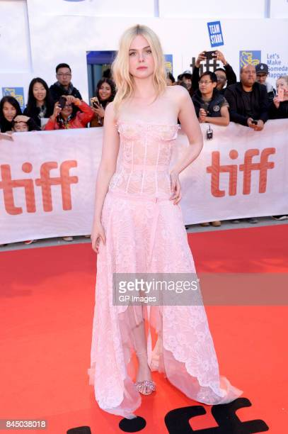 """Elle Fanning attends the """"Mary Shelley"""" premiere during the 2017 Toronto International Film Festival at Roy Thomson Hall on September 9, 2017 in..."""