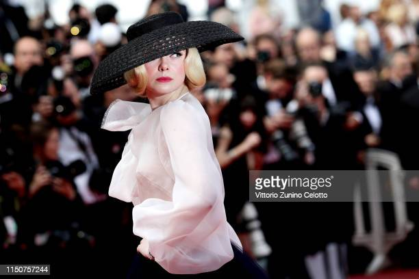 Elle Fanning attends the screening of Once Upon A Time In Hollywood during the 72nd annual Cannes Film Festival on May 21 2019 in Cannes France