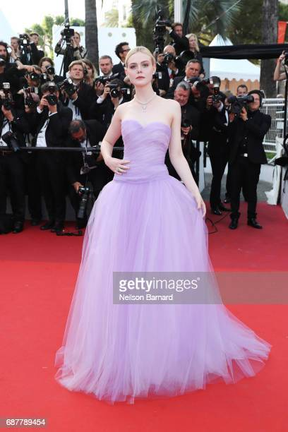 "Elle Fanning attends the ""The Beguiled"" screening during the 70th annual Cannes Film Festival at Palais des Festivals on May 24, 2017 in Cannes,..."