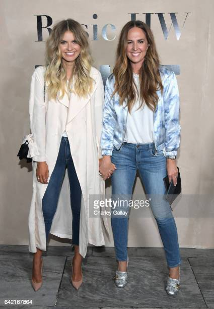 Elle Ferguson and Tash Sefton attend the launch of the Rosie HW x PAIGE Collection hosted by Rosie HuntingtonWhiteley and Paige AdamsGeller at Ysabel...