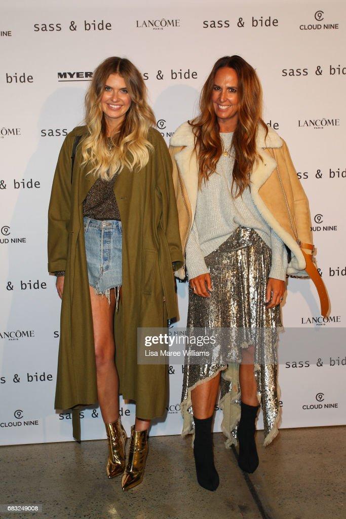 Sass & Bide - Arrivals - Mercedes-Benz Fashion Week Australia 2017 : News Photo