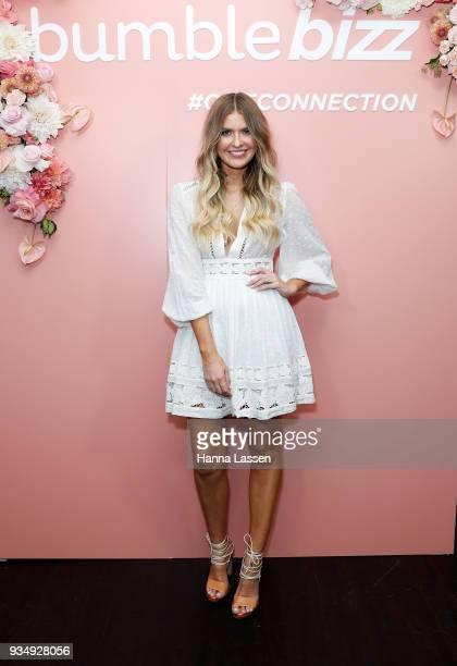 Elle Ferguson attends the Bumble Bizz launch on March 20 2018 in Sydney Australia