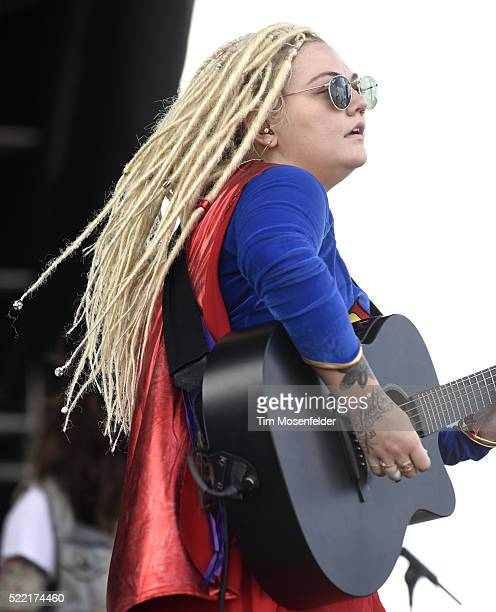 Elle King performs during the Tortuga Music Festival on April 17 2016 in Fort Lauderdale Florida