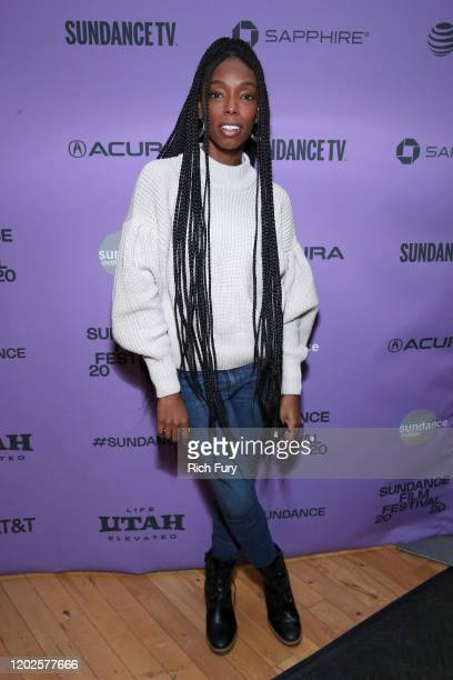 Elle Lorraine attends the 2020 Sundance Film Festival Cinema Cafe With Zazie Beetz, Elle Lorraine And Taylour Paige at Filmmaker Lodge on January 28,...
