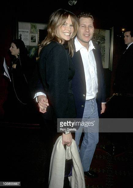 Elle Macpherson and Arpard Busson during 'The Man In The Iron Mask' New York Premiere at Ziegfeld Theater in New York City New York United States
