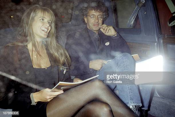 Elle Macpherson and Gilles Bensimon during Elle Macpherson and Gilles Bensimon at Hard Rock Cafe in New York City June 2 1988 at Hard Rock Cafe in...