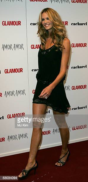 Elle MacPherson arrives at the Glamour Women Of The Year Awards 2005 at Berkeley Square on June 7 2005 in London England The Jonathan Rosshosted...