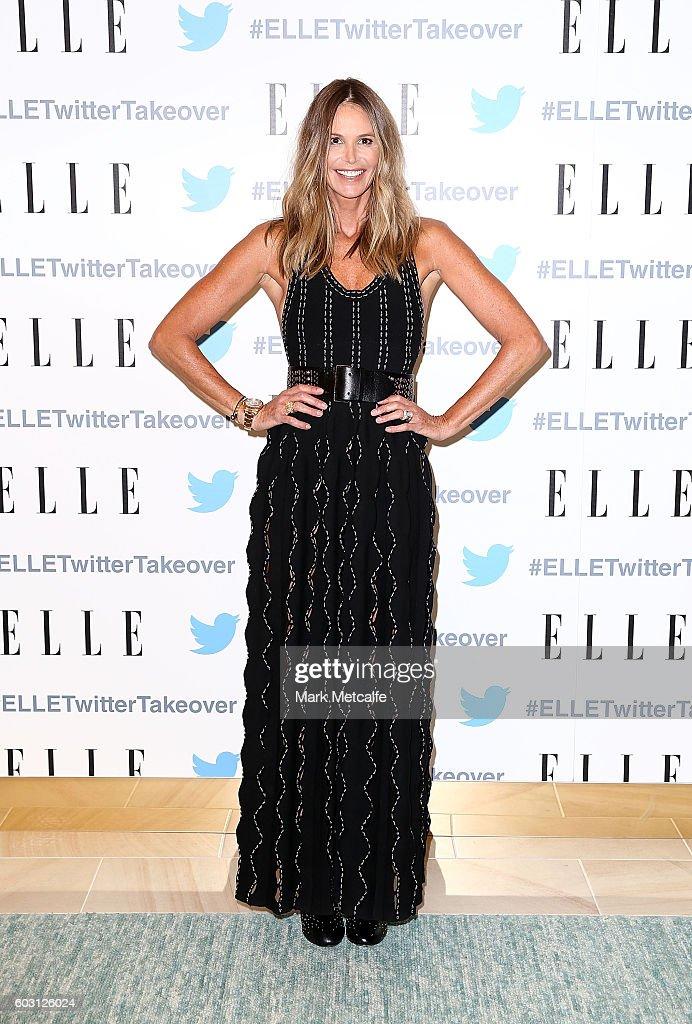 Elle Macpherson Dinner At TwitterAU HQ : News Photo