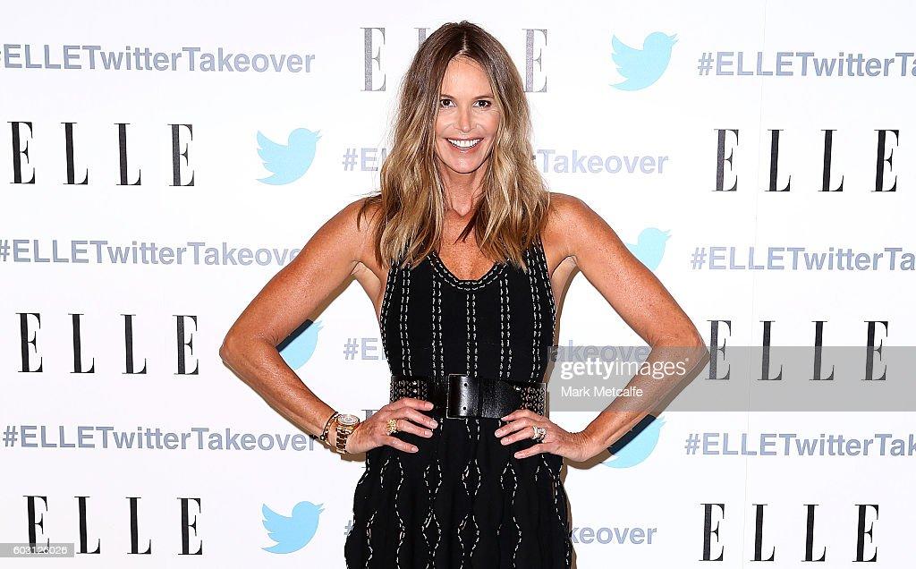 Elle Macpherson Dinner At TwitterAU HQ