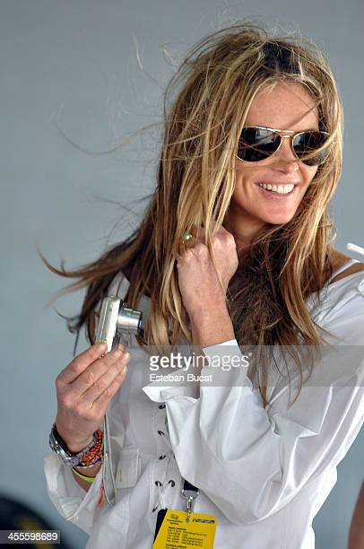 Elle Macpherson at HomesteadMiami Speedway March 7 2010 in Homestead Florida