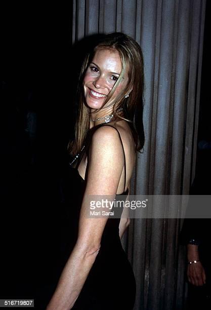 Elle Macpherson at Metropolitan Museum Costume Institute Gala, New York, December 6, 1999.