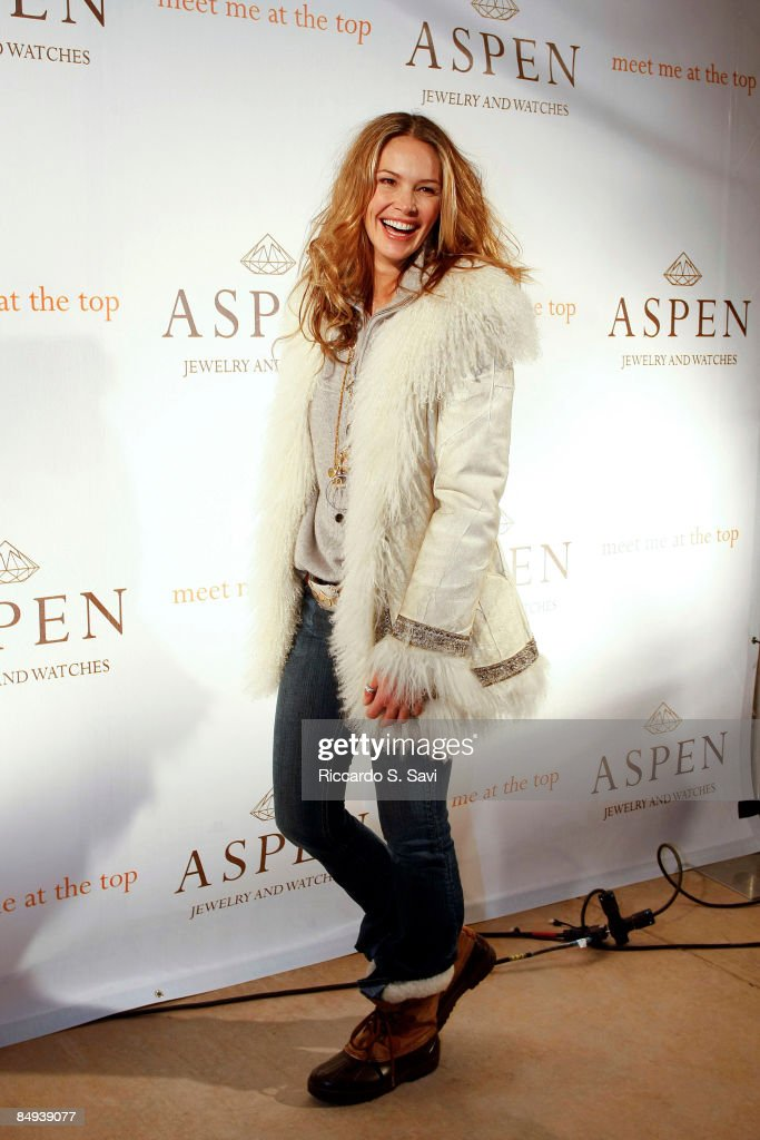 Launch Of Aspen Jewelry And Watches Worldwide : News Photo