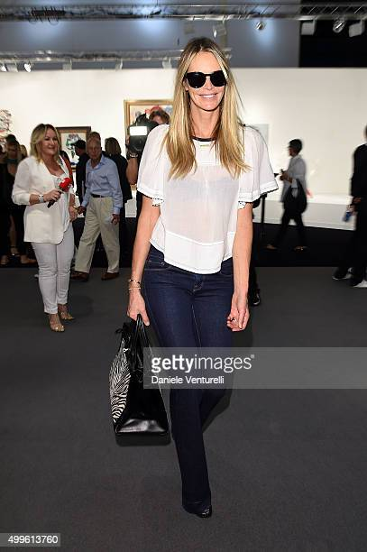 Elle Macpherson attends Art Basel Miami Beach VIP Preview at the Miami Beach Convention Center on December 2 2015 in Miami Beach Florida