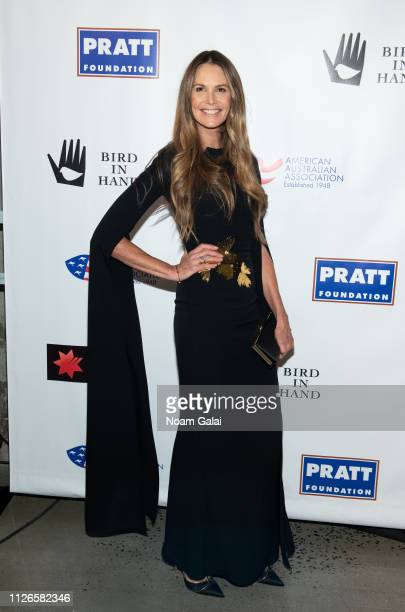 Elle Macpherson attends the 2019 American Australian Arts Awards at Skylight Modern on January 31, 2019 in New York City.