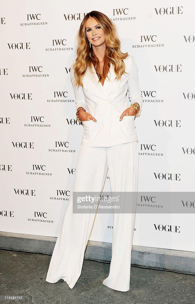 Vogue and IWC present 'Peter Lindbergh's Portofino' : News Photo