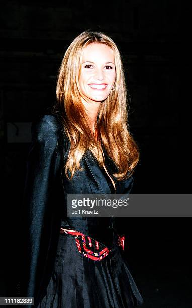 Elle MacPherson during 1994 MTV Movie Awards at Sony Studios in Culver City California United States