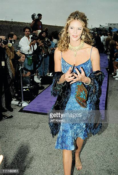 Elle MacPherson during 1997 MTV Movie Awards in Los Angeles California United States