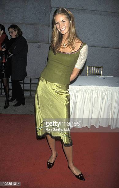 Elle Macpherson during Birthday Gala For Puff Daddy at Cipriani's in New York City NY United States