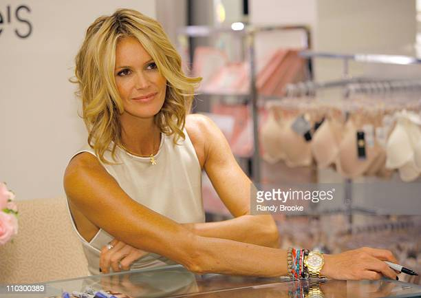 Elle MacPherson during Bloomingdales and SuperModel Elle MacPherson Preview of 'Once Upon a Time' Intimates Collection at Bloomingdales in New York...