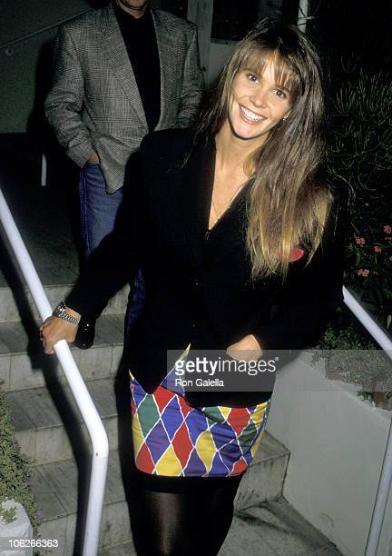 Elle Macpherson during Elle Macpherson Sighting at Spago in West Hollywood - April 21, 1988 at Spago Restaurant in West Hollywood, California, United...