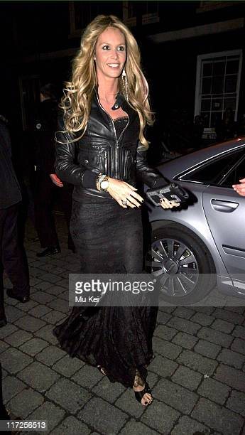 Elle MacPherson during ELLE Style Awards 2006 After Party at Atlantis Gallery Old Truman Brewery in London Great Britain
