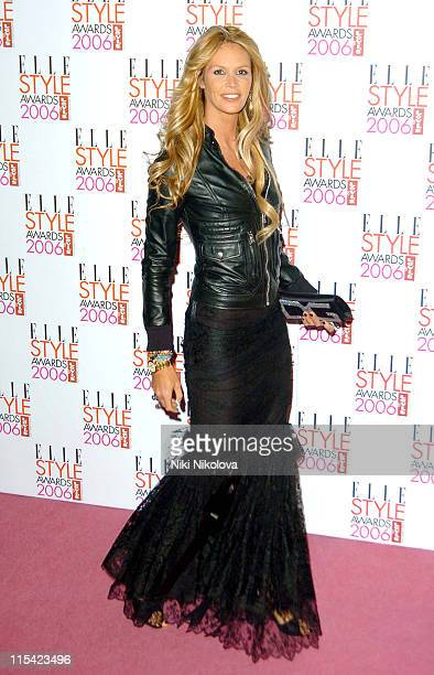 Elle MacPherson during ELLE Style Awards 2006 Arrivals at Atlantis Gallery in London Great Britain